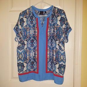 Rafaella Petite Medium Shirt Top NWOT